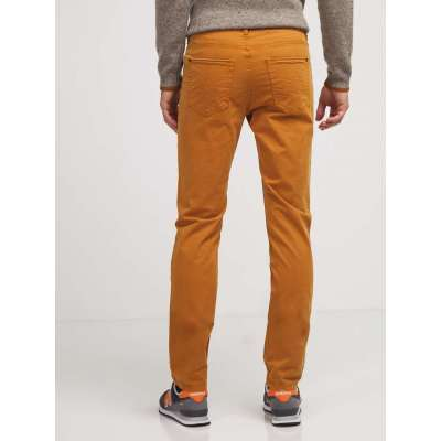 Pantalon moutarde touché peau de pêche TIBET TIBET - 3
