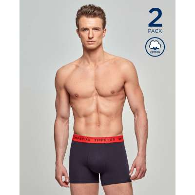 Lot de 2 boxers coton extensible IMPETUS IMPETUS - 1