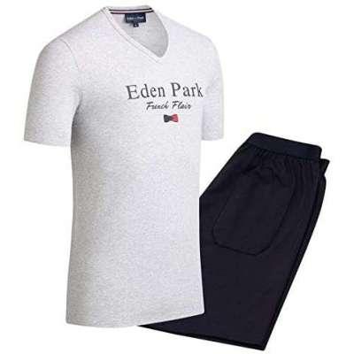 Pyjama court EDEN PARK french flair gris chiné EDEN PARK - 1