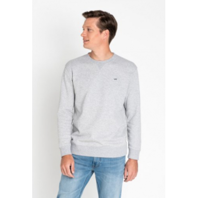 Sweat shirt LEE jeans gris mélangé