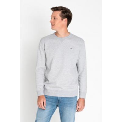 Sweat shirt LEE jeans gris mélangé