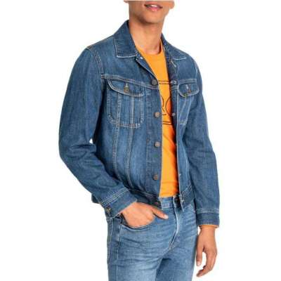 Veste en jeans LEE coupe slim