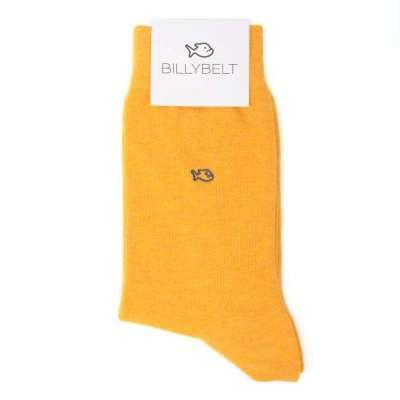 chaussettes BILLYTBELT jaune chiné