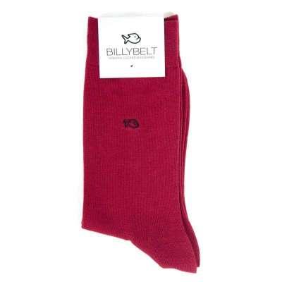 chaussettes BILLYTBELT bordeaux