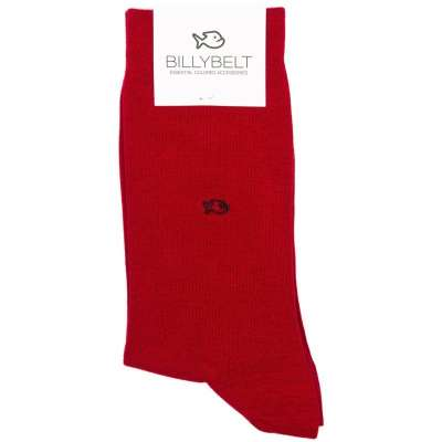 chaussettes BILLYTBELT rouge