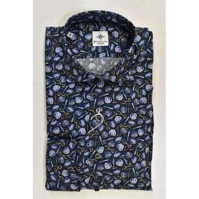 Chemise thème cravates.