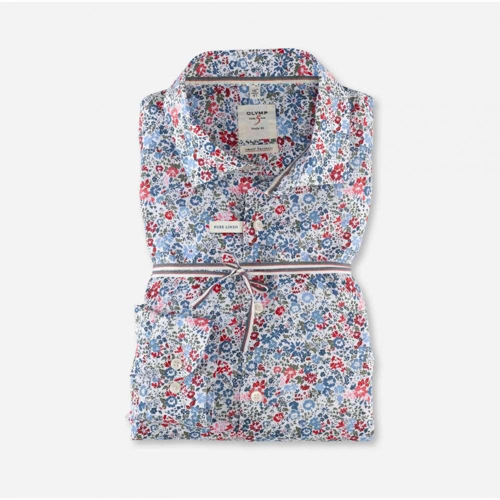 chemise OLYMP smart business en lin OLYMP - 1