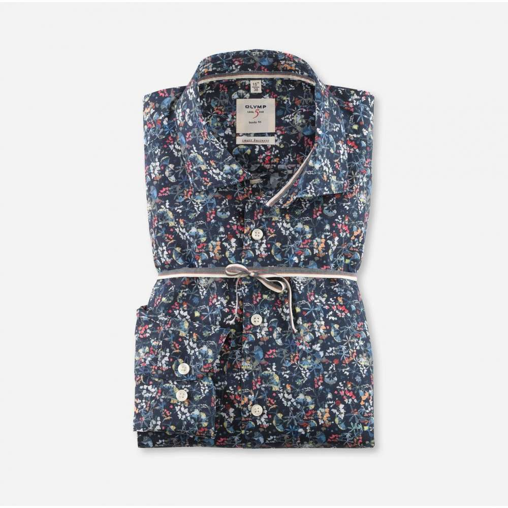 Chemise OLYMP smart business bleue OLYMP - 1
