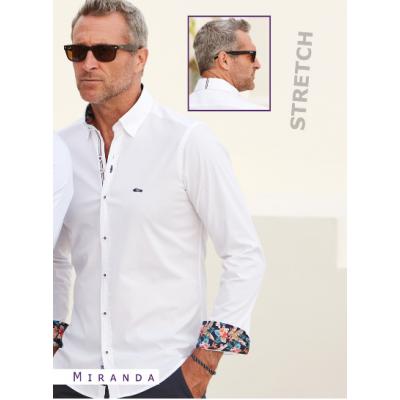 Chemise blanche fantaisie Beltran