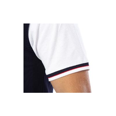 Polo Ruckfield bicolore marine et blanc RUCKFIELD - 1