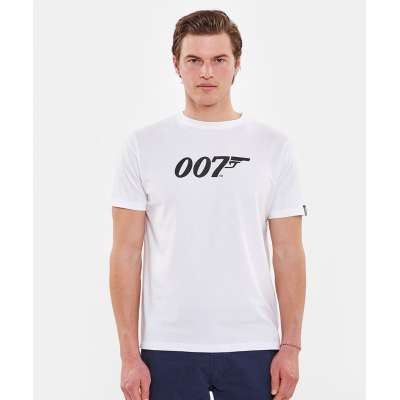 Tee shirt Hero Seven7 007 blanc