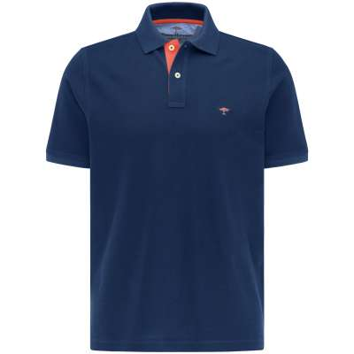 Polo bleu nuit Fynch Hatton FYNCH HATTON - 1
