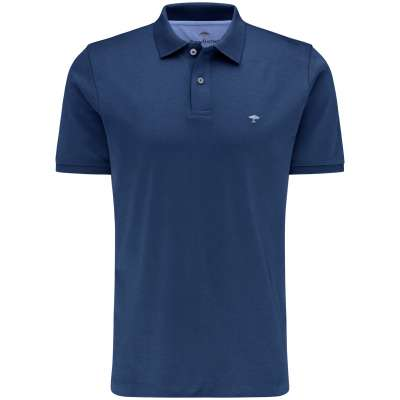 Polo pima coton Fynch hatton bleu nuit FYNCH HATTON - 1