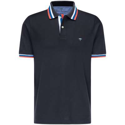 Polo bleu marine Fynch Hatton FYNCH HATTON - 1
