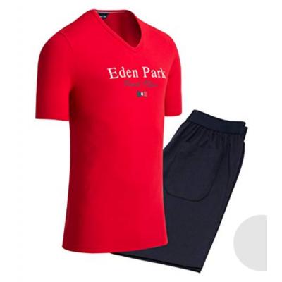 Pyjama court Eden Park  rouge EDEN PARK - 1