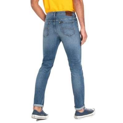 Jeans LEE rider broken blue LEE - 4