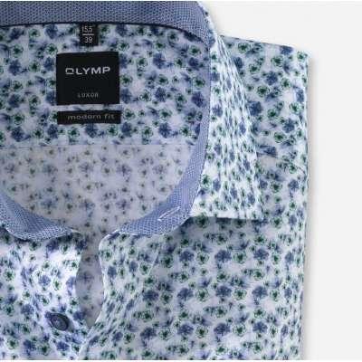 Chemisette OLYMP sans repassage à fleurs OLYMP - 3
