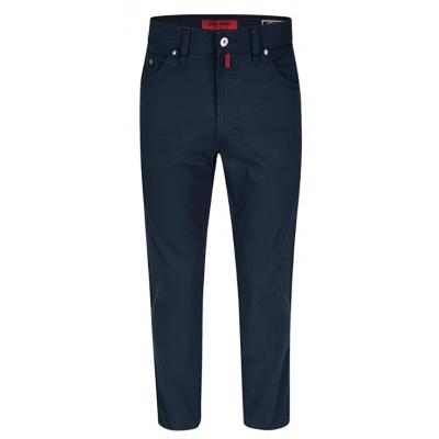 Pantalon CARDIN été pima coton bleu marine CARDIN - 1