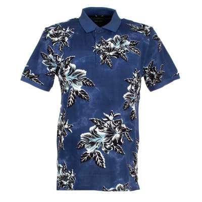 Polo Pierre CARDIN Bleu motif