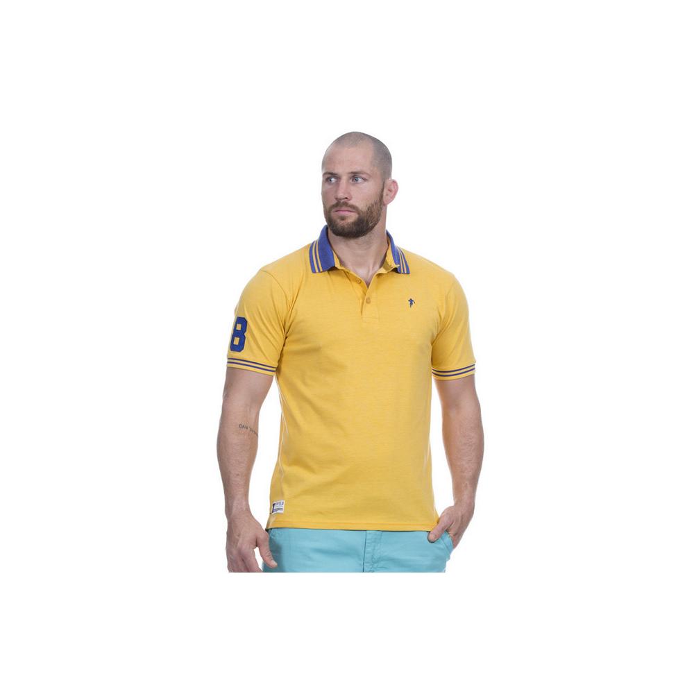 Polo piqué jaune RUCKFIELD RUCKFIELD - 1