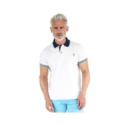 Polo LA SQUADRA Raiano blanc