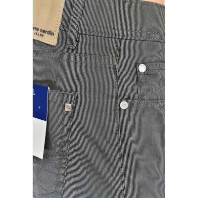 Pantalon Pierre CARDIN fine rayures gris air touch CARDIN - 4