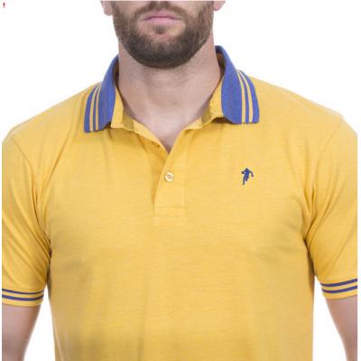 Polo piqué jaune RUCKFIELD RUCKFIELD - 3