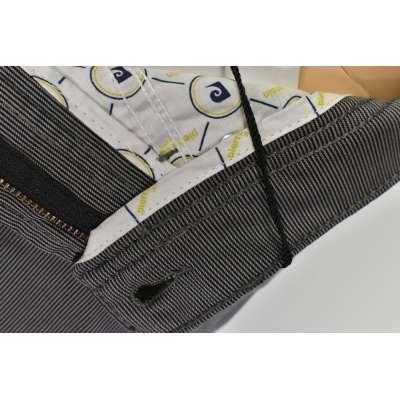 Pantalon Pierre CARDIN fine rayures gris air touch CARDIN - 7