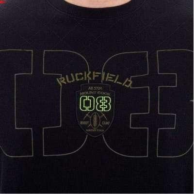 Sweat-shirt léger RUCKFIELD noir rugby camps RUCKFIELD - 1