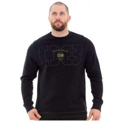 Sweat-shirt léger RUCKFIELD noir rugby camps RUCKFIELD - 3