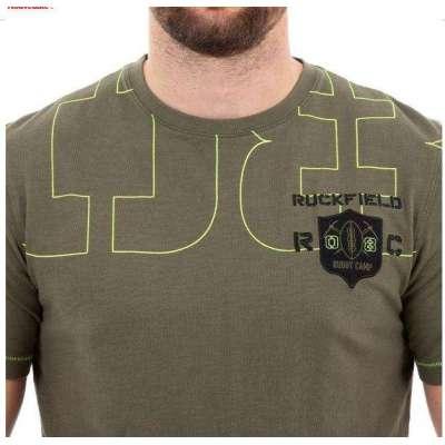 Tee shirt RUCKFIELD rugby camps kaki RUCKFIELD - 4