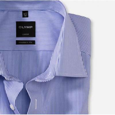 chemise olymp mf rayure bleue OLYMP - 1