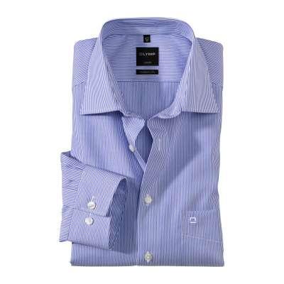 chemise olymp mf rayure bleue OLYMP - 2