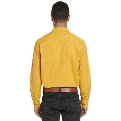 Chemise coupe droite Avelino gold LA SQUADRA - 2