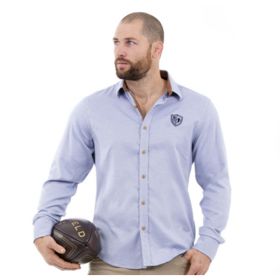 Chemise RUCKFIELD bleue clair RUCKFIELD RUCKFIELD - 5