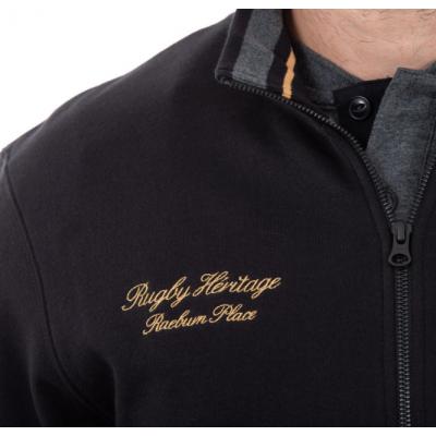 Sweat shirt ouvrant RUCKFIELD noir et doré RUCKFIELD - 2