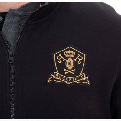 Sweat shirt ouvrant RUCKFIELD noir et doré RUCKFIELD - 5