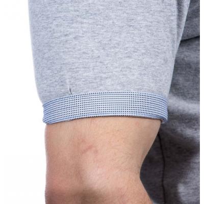 T-Shirt RUCKFIELD gris chiné élégance RUCKFIELD - 1