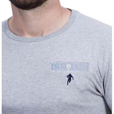 T-Shirt RUCKFIELD gris chiné élégance RUCKFIELD - 2