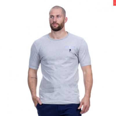 T-Shirt RUCKFIELD gris chiné élégance RUCKFIELD - 4