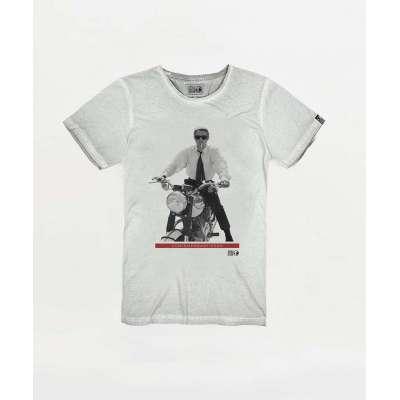 Tee-shirt Hero Seven overdrive, spray white HERO SEVEN - 1