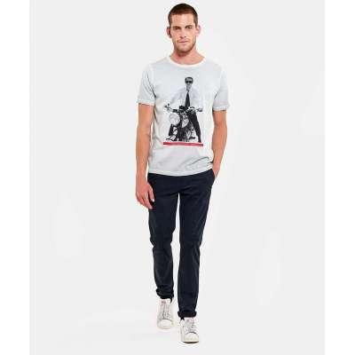 Tee-shirt Hero Seven overdrive, spray white HERO SEVEN - 2