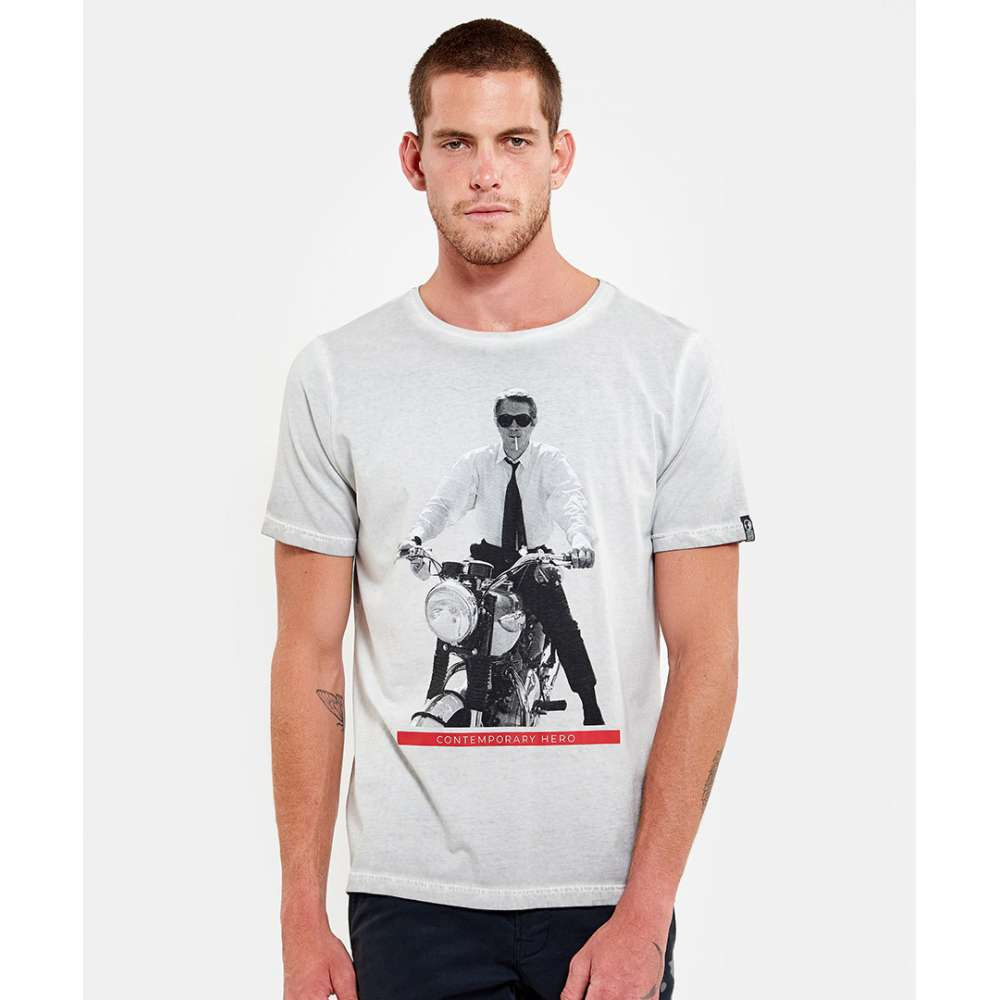 Tee-shirt Hero Seven overdrive, spray white HERO SEVEN - 4