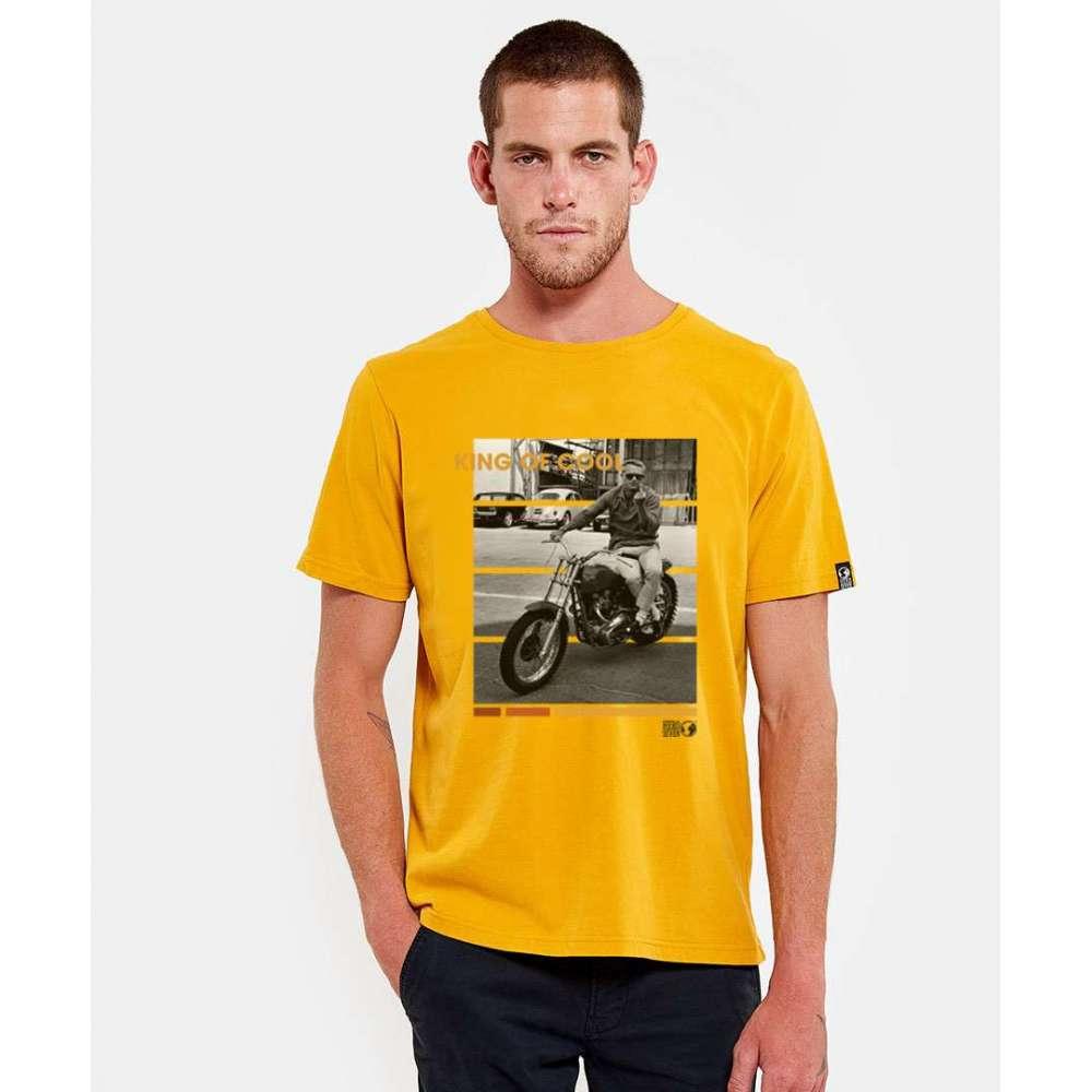 Tee shirt Hero Seven moutarde HERO SEVEN - 1