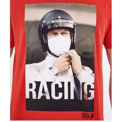 Tee shirt Hero Seven Steve McQueen rouge HERO SEVEN - 2