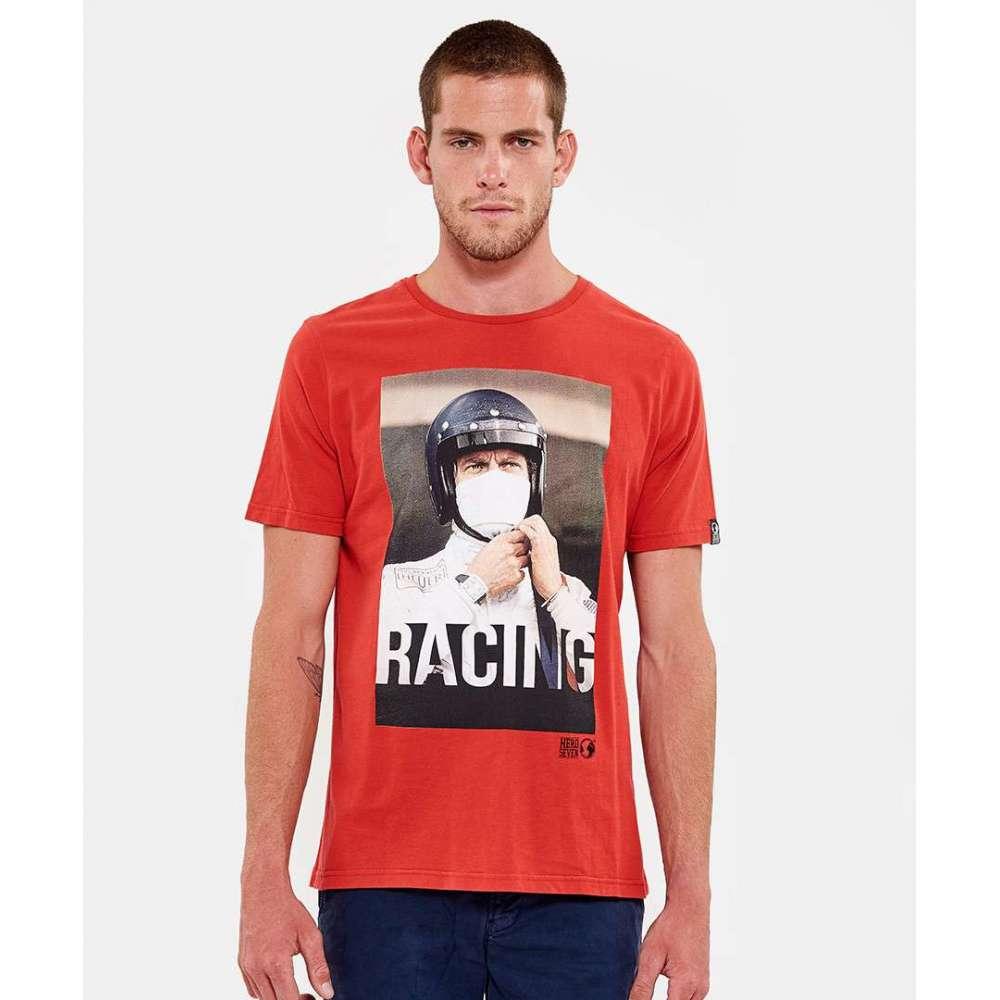 Tee shirt Hero Seven Steve McQueen rouge HERO SEVEN - 4
