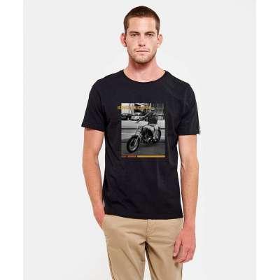 Tee shirt Hero Seven noir Steve McQueen HERO SEVEN - 1