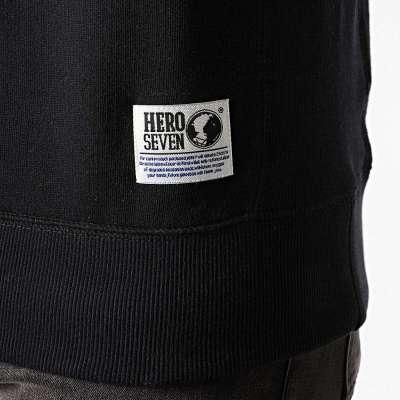 Sweat shirt HERO SEVEN flag noir HERO SEVEN - 2