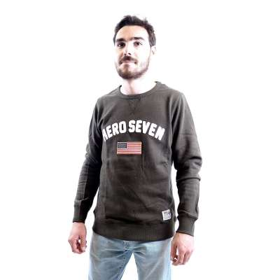 Sweat shirt HERO SEVEN kaki HERO SEVEN - 2
